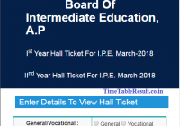 jnanabhumi.ap.gov.in Hall Tickets 2018